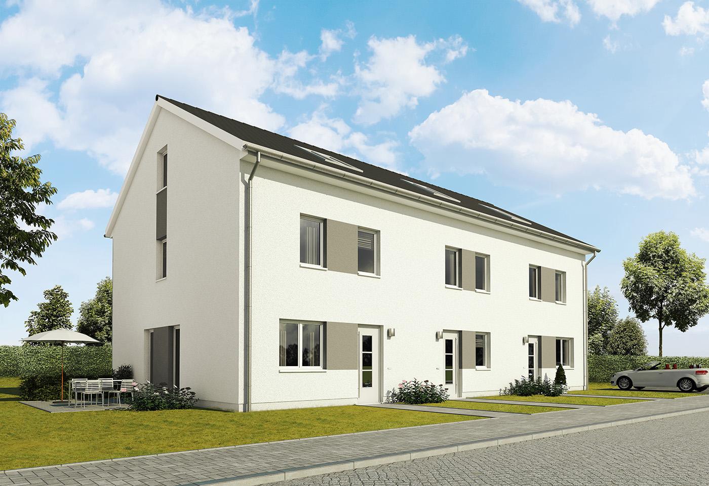 Architekturvisualisierung für die Firma Baudirekt