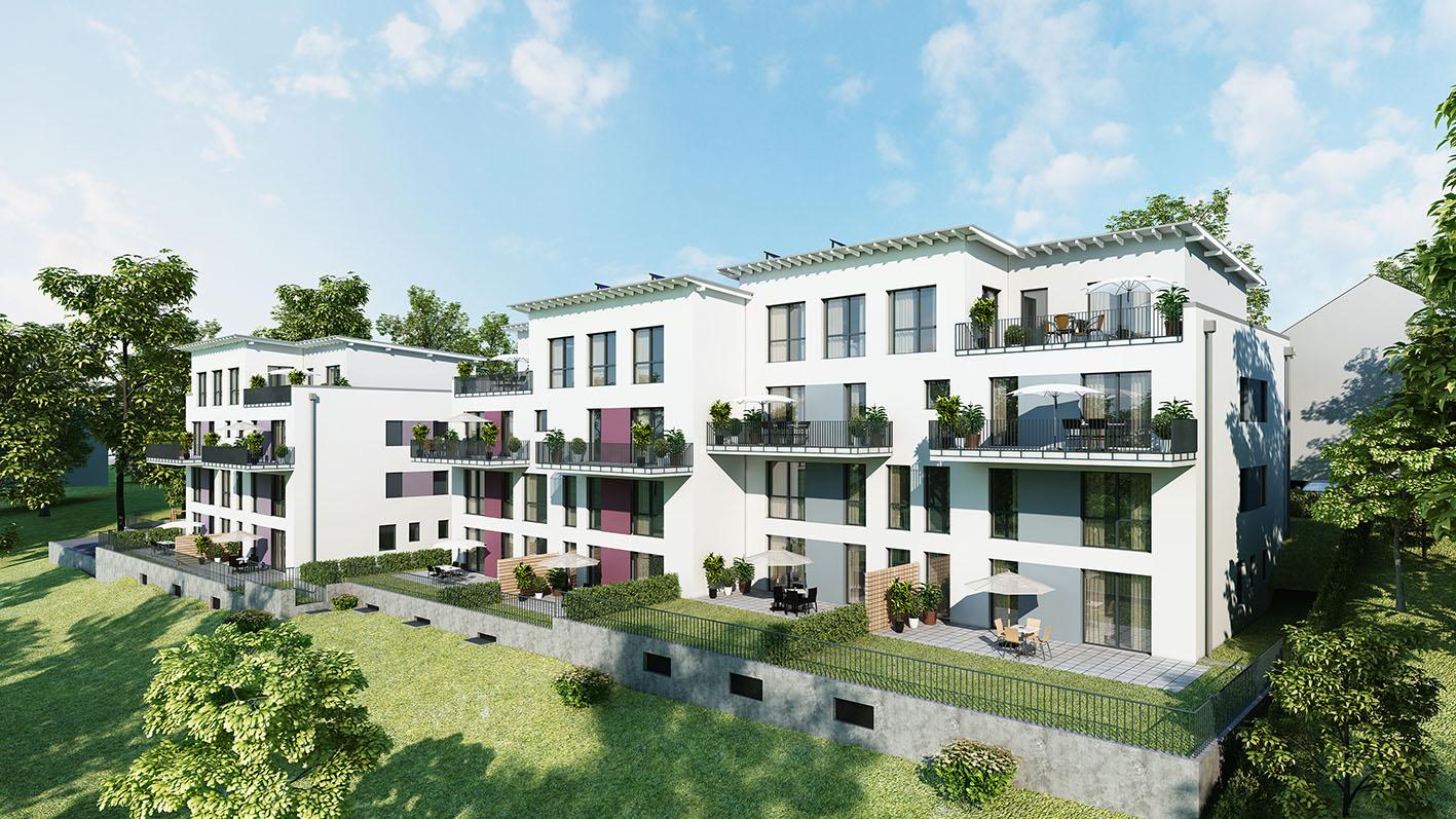 Allbau AG – Wir visualisieren die Neubauvorhaben Stakenholt und Einigkeitsstraße!