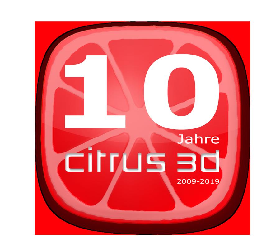 Citrus3D wird 10!