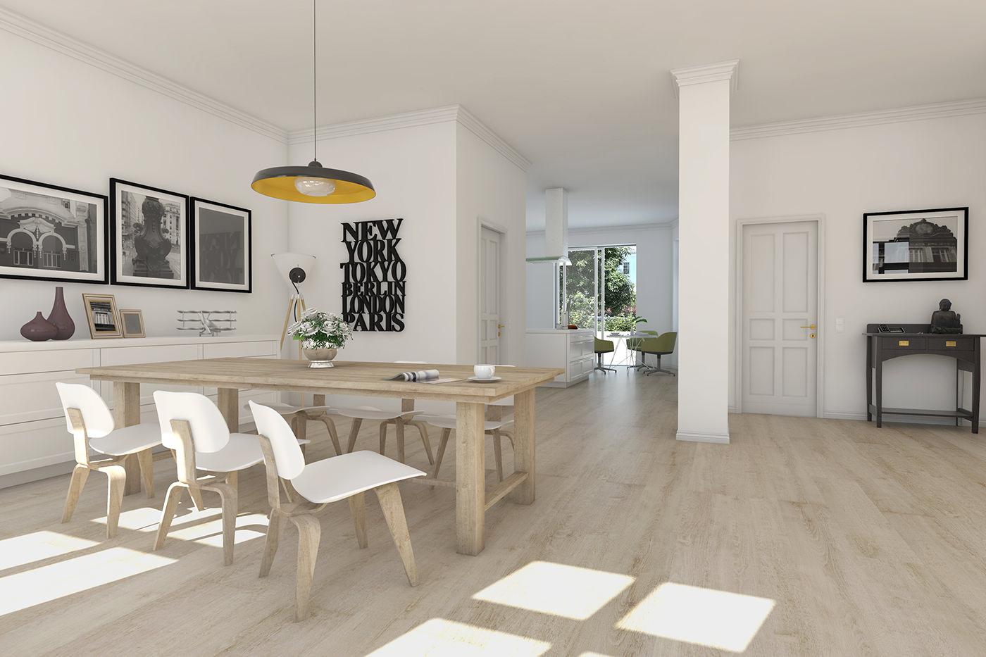 Architekturvisualisierung für MINERVA Management Beteiligungs GmbH