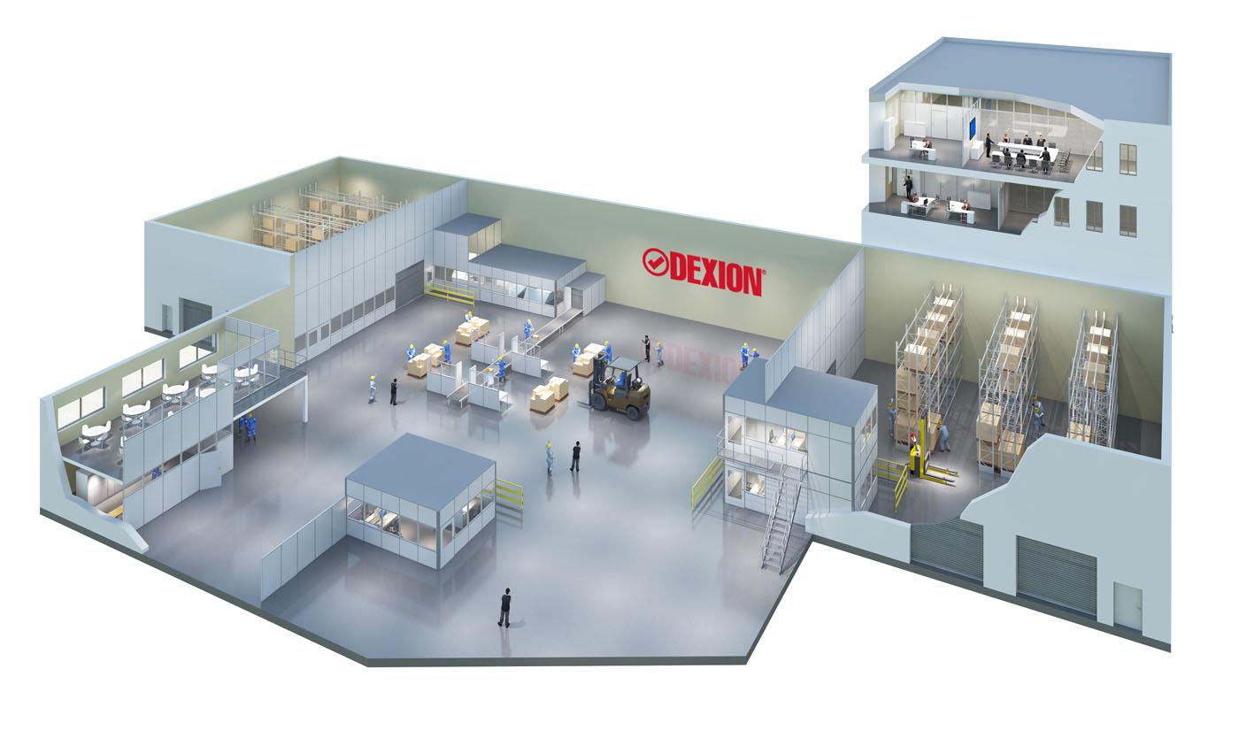 Citrus3d visualisiert wieder für die renommierte DEXION GmbH